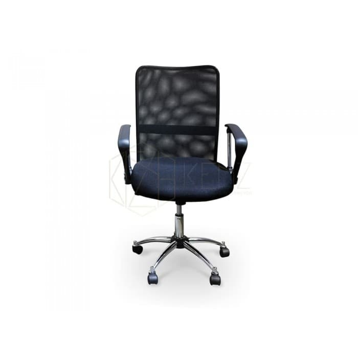 Furniture - Bikesh Mesh Office Chair - High Back - Black