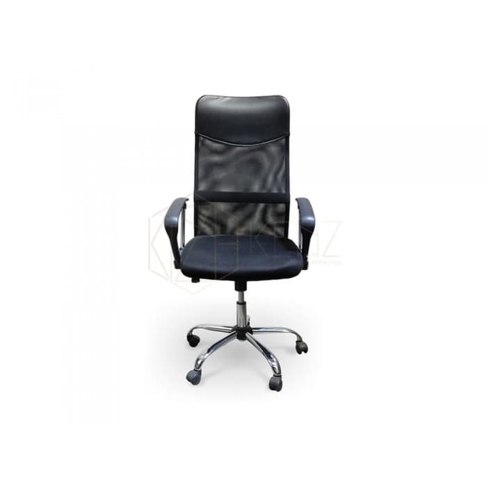 Furniture - Larry Mesh Office Chair - Black