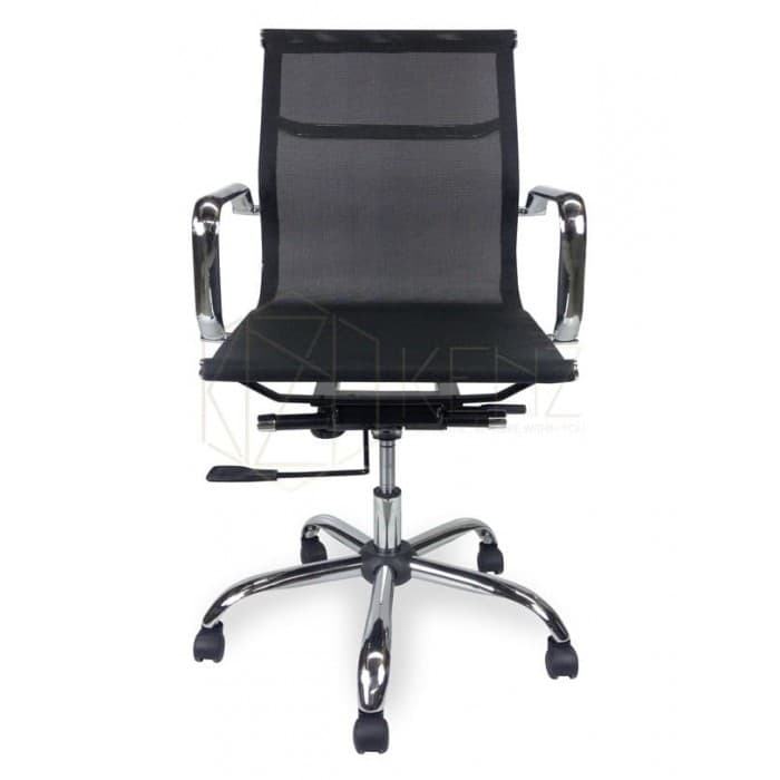 Furniture - Eames Designer Mesh Office Chair - Low Back - Black