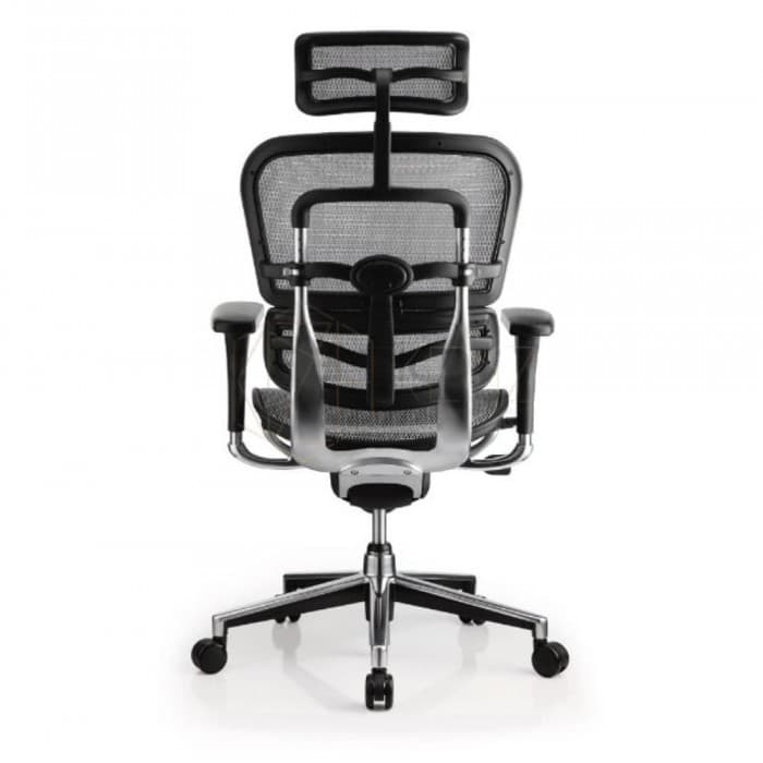 Ergohuman Standard Mesh Office Chair - High Back - Black