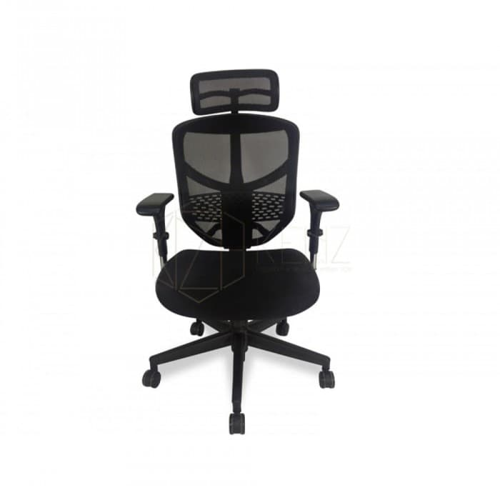 Ergonomic Mesh Office Chair - Ergo Posture Plus - Black