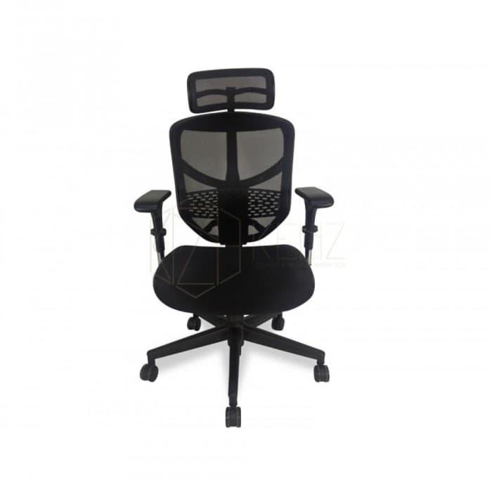 Furniture - Ergonomic Mesh Office Chair - Ergo Posture Plus - Black