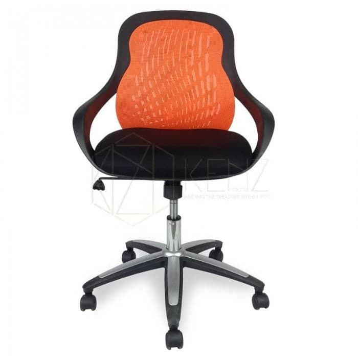 Furniture - Evo Mesh Office Chair - Orange