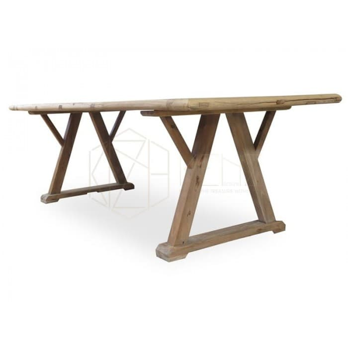 Hercules Reclaimed ELM Wood Table 2.4m