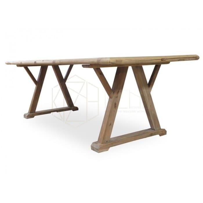 Dining Room - Hercules Reclaimed ELM Wood Table 2.4m