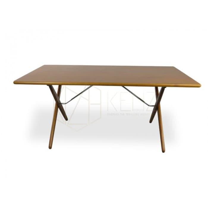 Joist Dining Table - Light Brown