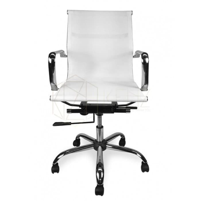 Eames Designer Mesh Office Chair - Low Back - White