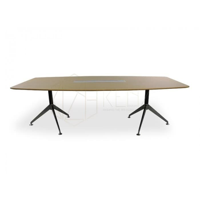 Spyder Boardroom Table 2.4m - White