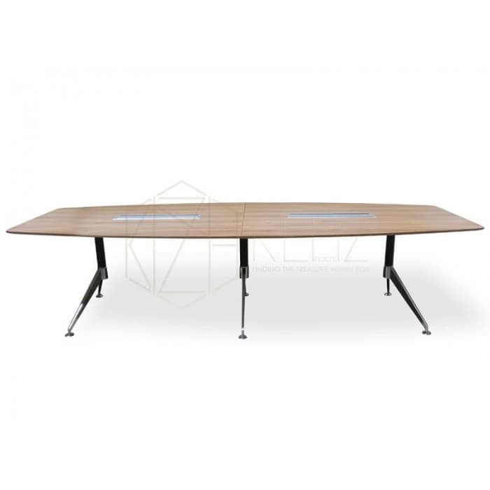Spyder Boardroom Table 3m - Walnut