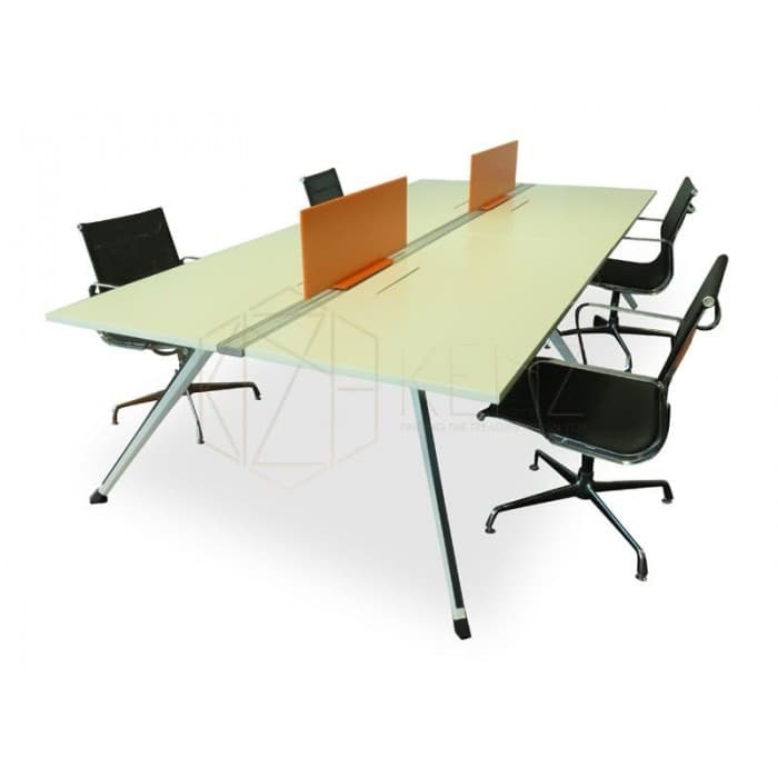 Office Furniture - Spectrum 4 Seater Workstation Classic
