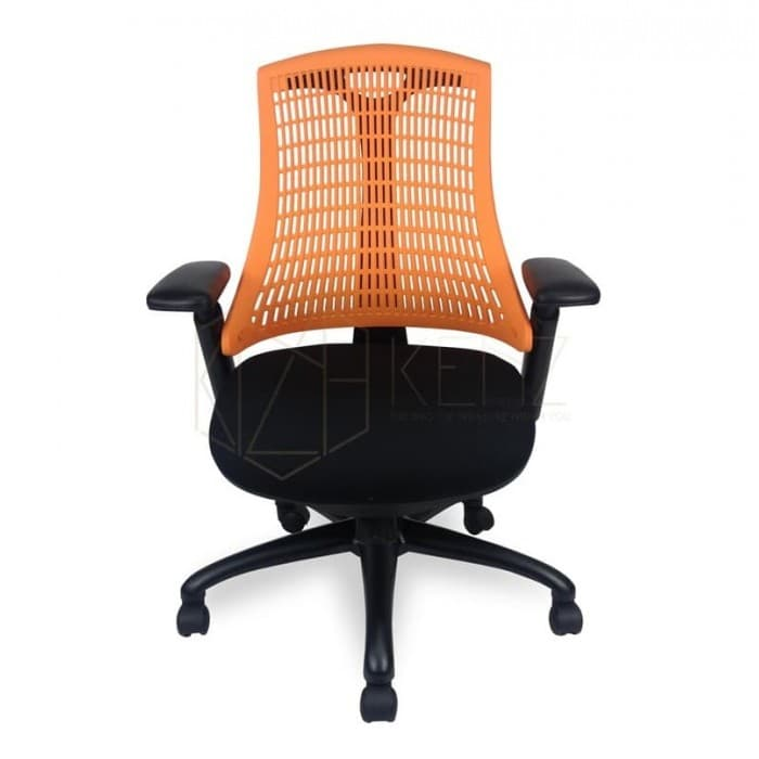 Jenson Ergonomic Mesh Office Chair - Orange