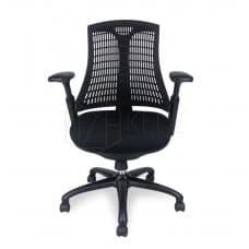 Furniture - Jenson Ergonomic Mesh Office Chair - Black