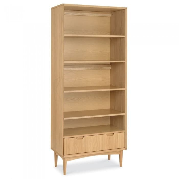 Furniture - Johansen Wide Bookcase - Natural