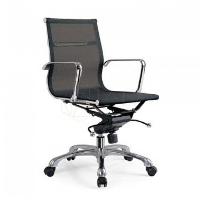 Management Mesh Office Chair - Eames Inspired - Black