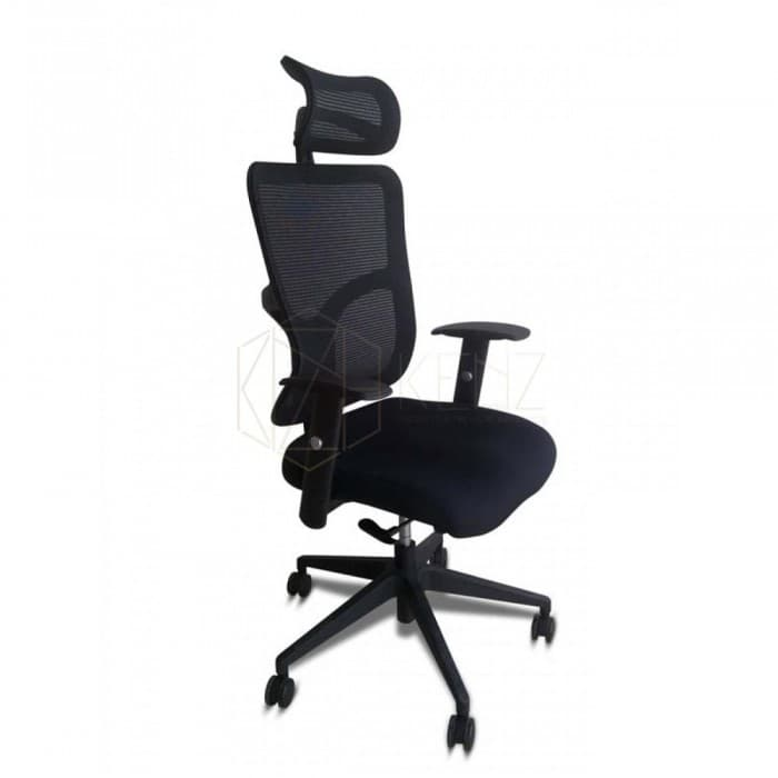 Mirage Ergonomic Mesh Office Chair - High Back - Black