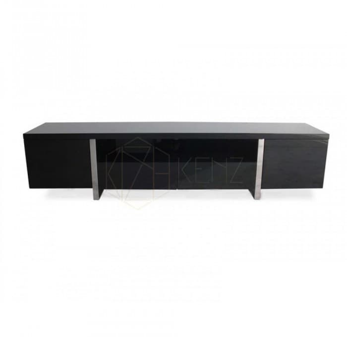 New York TV Entertainment Unit - Lowline - High Gloss Black