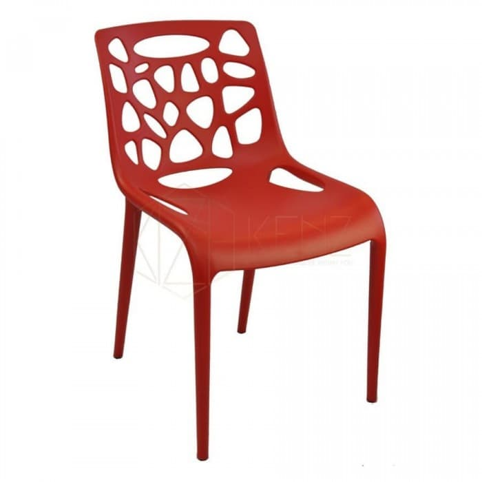 Furniture - Pascal Dining Chair - Red