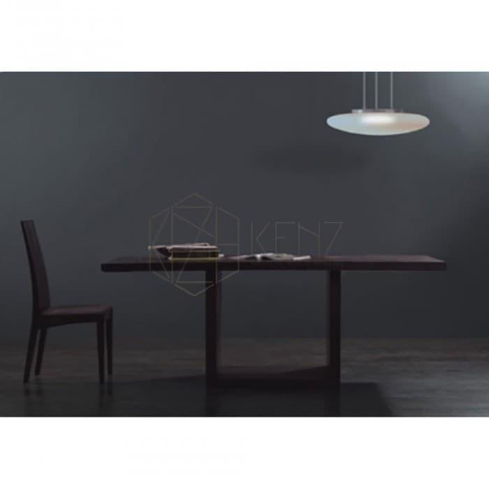 Furniture - Pazo Dining Table - Chocolate Brown Veneer