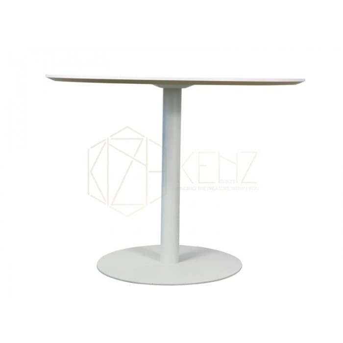 Furniture - Scope Round Meeting Table - White