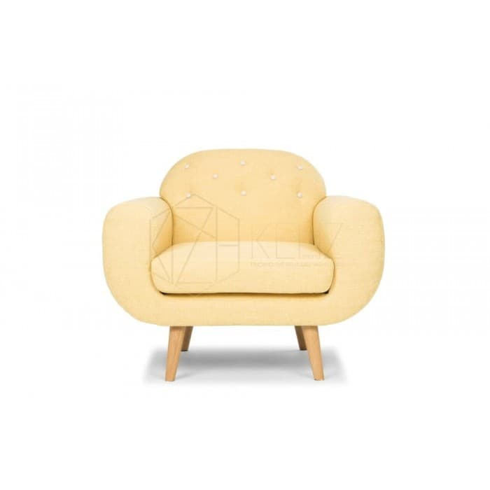Furniture - Petra Mustard Armchair